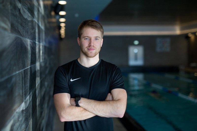 Plaukimo vyr. treneris Anton Sugoniak apie plaukimo naudą